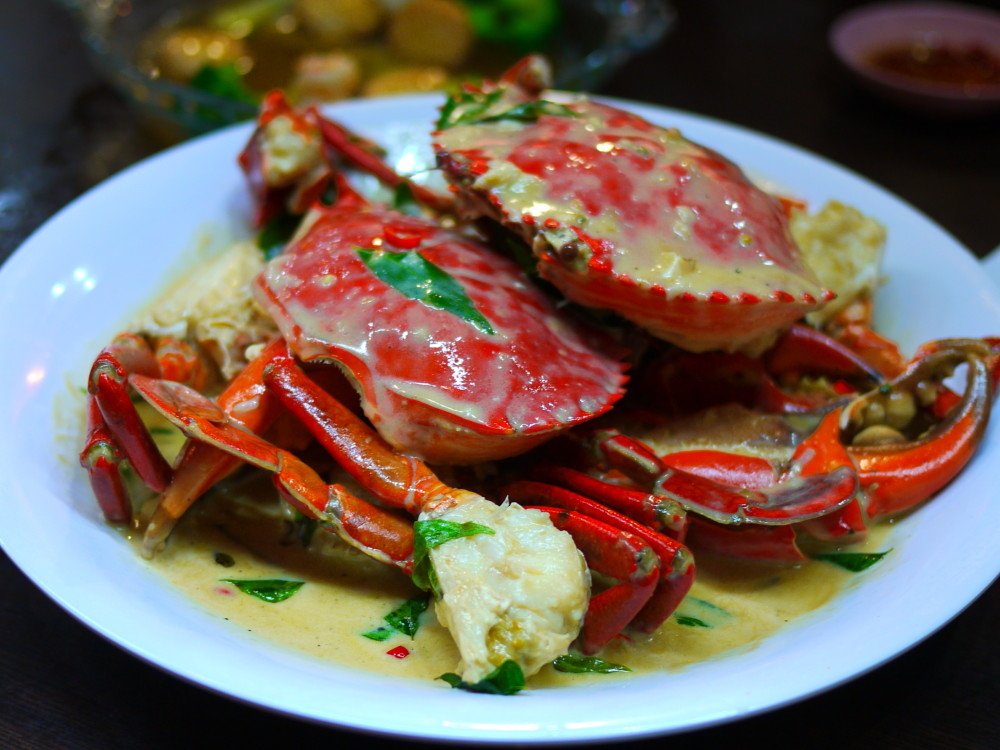 Butter Crab Mellben Seafood Singapore