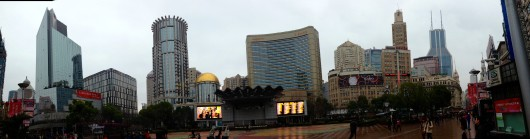 Nanjing Road Panorama View