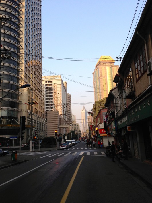Shanghai Morning view