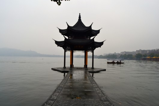 West Lake - Three Pools Mirroring The Moon - Hangzhou 2