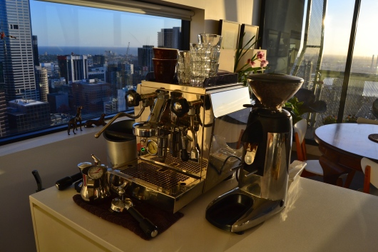 Coffee Machine Melbourne Airbnb William Street