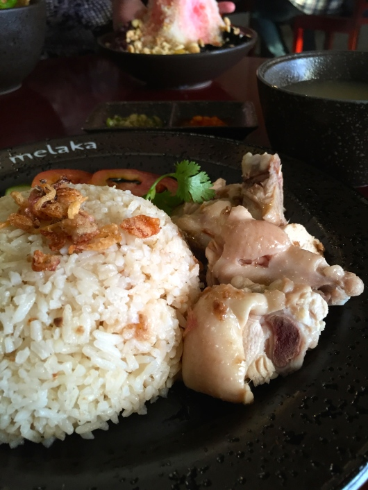 Hainam Chicken  Little Melaka Center Point Medan