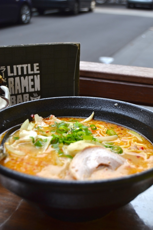 Spicy Ramen Little Ramen Bar MElbourne