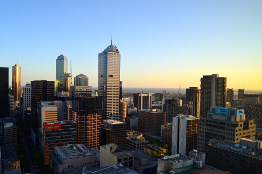 View from Melbourne Airbnb William Street 4