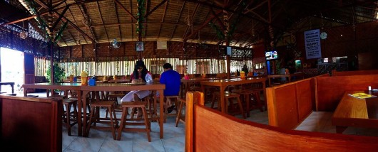 Panorama Interior Warung Was Was Binjai