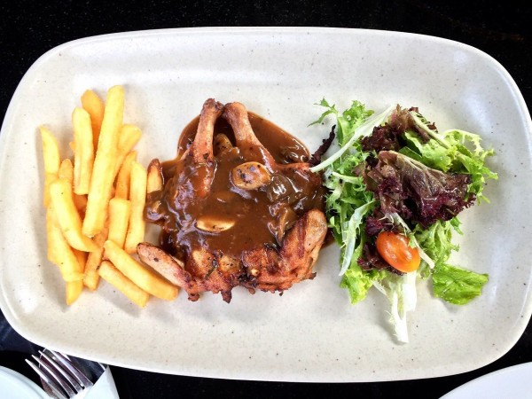 Roasted Baby Chicken Cocorico Cafe Resto Bandung