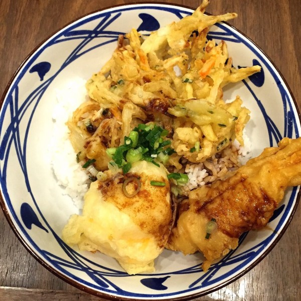 Tendon Tori Rice Marugame Udon Sun Plaza